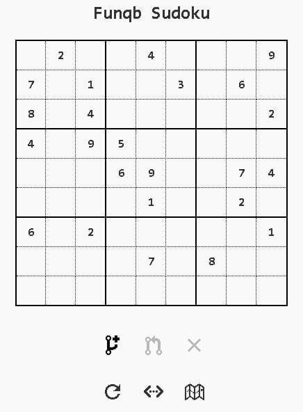 funqb.com sudoku game