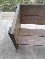 DIY Bench With Back